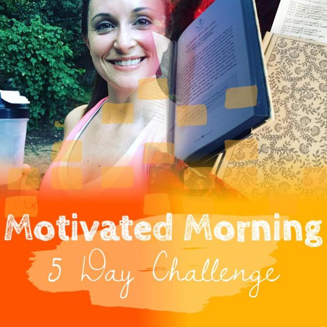 Motivated Morning Graphic